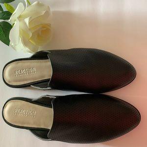 Black Mule Shoes . Reaction Kenneth Cole.